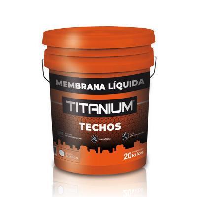 Membrana Liquida Titanium Blanca 20 Kilos Titanium