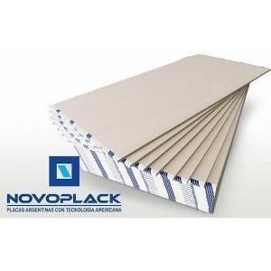Placa De Yeso De 9,5 - 1,20 X 2,40 Novoplack Novoplack