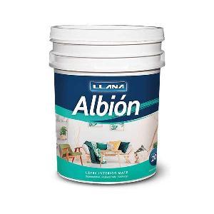 Latex Albion Blanco Mate Por 20 Litros Llana