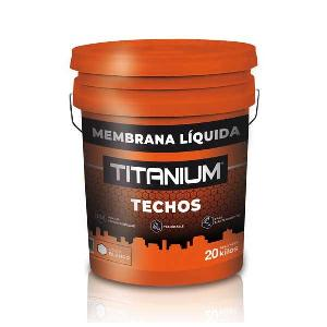 Membrana Liquida Titanium Roja 20 Kilos Titanium